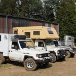 """Unser 4x4 Camper in der """"Verschnaufpause"""""""