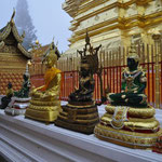 "Im ""Wat Phrathat Lampang Luang"" Tempel"