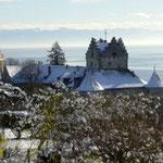 Meersburg during winter