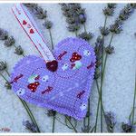 Lavendelsäckchen als Glücksbringer