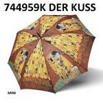 Klimt 744959K 'Der Kuss' mini automatisch (opening en sluiting)