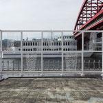 shakkei -kobe port     2017     (港都KOBE芸術祭・北公園)  撮影:福永一夫