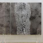 shakkei - art 12     2015     1300×1300×10mm     (撮影:福永 一夫)