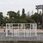 shakkei -kobe port     2017     (港都KOBE芸術祭・北公園・ファンタジー号より)  撮影:福永一夫