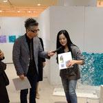 OSAKA ART FES 2019   阪神梅田本店8階催場・おかけんたさんギャラリートーク   撮影:小曽根環