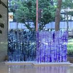 ダイジニオモウコト      大阪御堂筋アート (御堂ビル1Fエントランス)       撮影:小梶吉隆