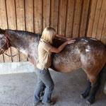 Behandlung der langen Rückenmuskeln