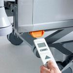 Am Entsperrmagneten des Puro lassen sich die Bedienebenen des LCD-Handschalters schnell und mühelos wechseln.
