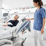 Die Notfallposition lässt sich über die integrierte Bedienung sekundenschnell einstellen.