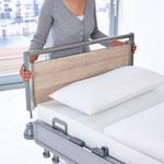 Die Puro-Häupter lassen sich schnell entriegeln und entnehmen, um einen besseren Zugang zum Patienten zu erhalten.