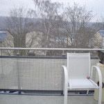 Mein Balkon mit Netz März 2012