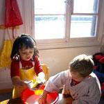 Carla-Marie und Finn....