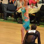 Deutsche Meisterschaften 2014, mit Sabine Hartke/ Foto: Karla Pixeljäger