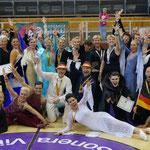 Europameisterschaft in Helsinki, 2016, Team Germany/ Foto: Dörte Lange