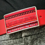 Boucle de ceinture Rouge