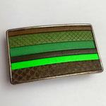 Boucle de ceinture  Verte