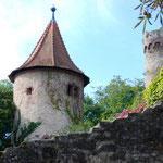 Die Burg, etwas martialischeres Detail.