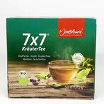 Jentschura 7x7 Kräutertee
