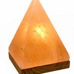 Salzlampe Obelisk/Pyramide, geschliffen