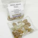Rohe Wasserstein Mischung Honigcalcit Mondstein