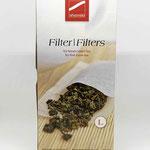 Teefilter Gr. L  für losen Kräutertee 100 Stk.