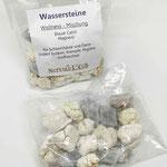 Rohe Wasserstein Mischung Blauer Calcit Magnesit