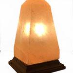 "Salzlampe ""Obelisk"", geschliffen"