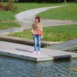 Mein heutiger schönster sozialer Kontakt: Isolde. unerreichbar mit 1,5 M Tiefgang!