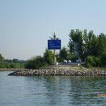 Habe den Abzweiger vom Rhein in den Main nicht übersehen!