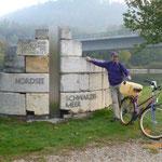 Wasserscheide am RMD-Kanal und am Weg um Diesel ........