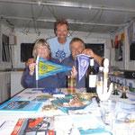 MY Clubschiff in Aschaffenburg mit .......... (sorry, muss ich erst im geborten Mainführer nachlesen)