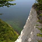 Der bekannte Kreidefelsen im Nationalpark Jasmund