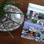Parution en cover pour la commune et ses artisans - Edition aôut 2018