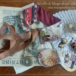Col collier & Masque de nuit Steampunk (EN VENTE)