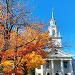 Amazing church in New England