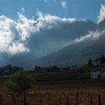 1. November: Licht- und Wolkenspiele im Herbst.