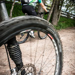 05. Juni: Biketour auf dem Salten. Das Mittelgebirge ist noch angenehm kühl.