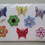 Schmetterlin und Blumen