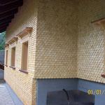 Schwarzach, Rundschindeln von Greussing Holzschindeln,