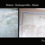 Musterachse,Malerei  Gewölbe