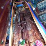 Lama Tempel mit seine riesigen Buddha