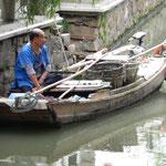 Auf den Kanälen von Souzhou