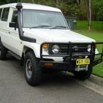 Als Serviceharzeug von einer australischen Telekom Firma gekauft