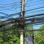 Auch auf Koh Samui - Interessante Elektrik