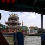 Rundfahrt auf dem Chao Phraya