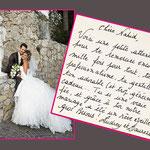 """Audrey et Laurent """"Mariage le 4 octobre 2008"""""""