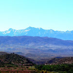 Blick aufs Atlas Gebirge