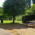Grande espace extérieur - Gite de charme Douceur Angevine