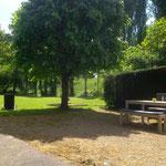 hugh garden and terrace
