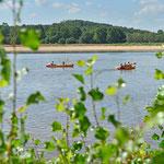 Kanu fahren auf der Loire